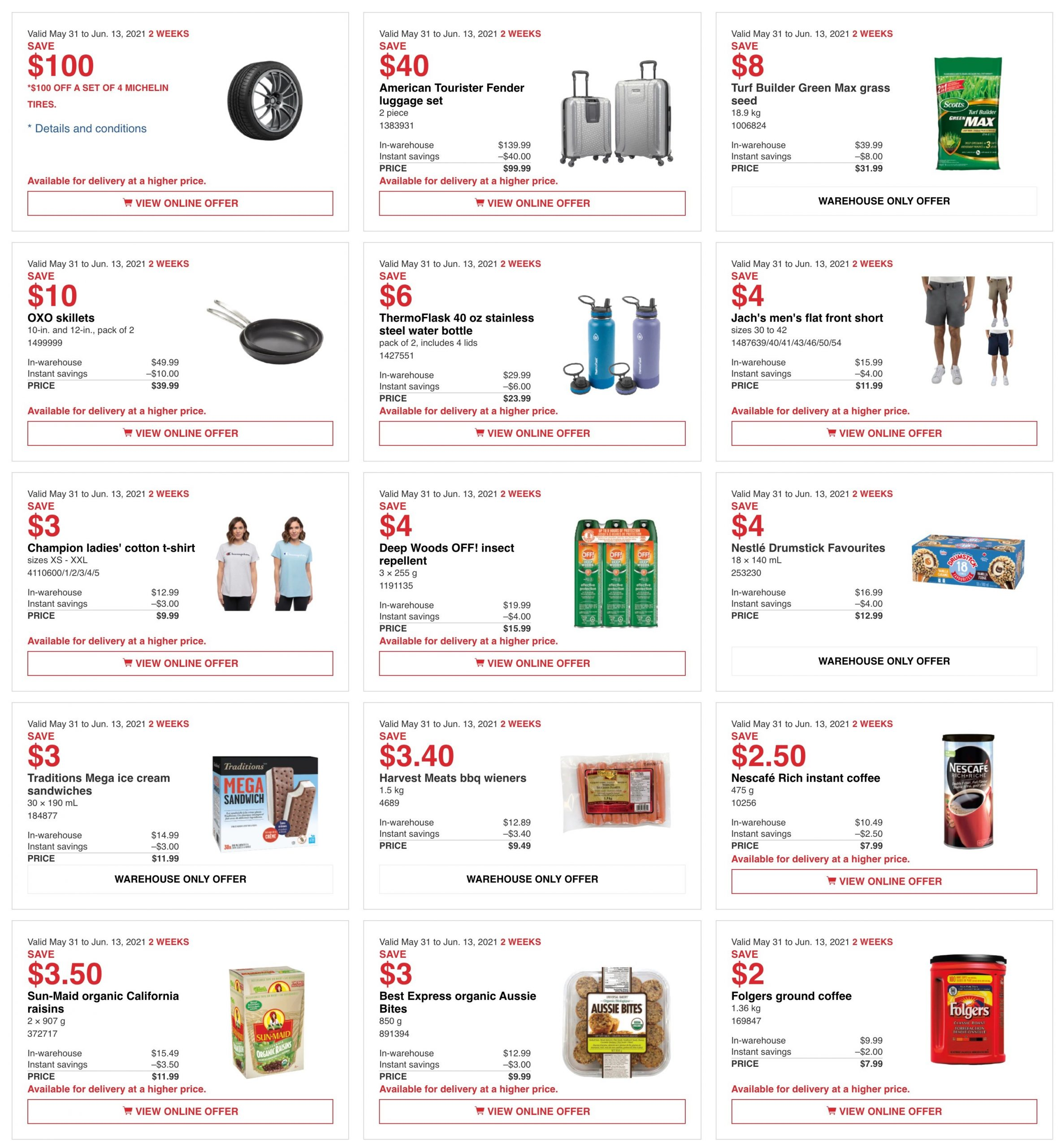 Costco AB Flyer May 31