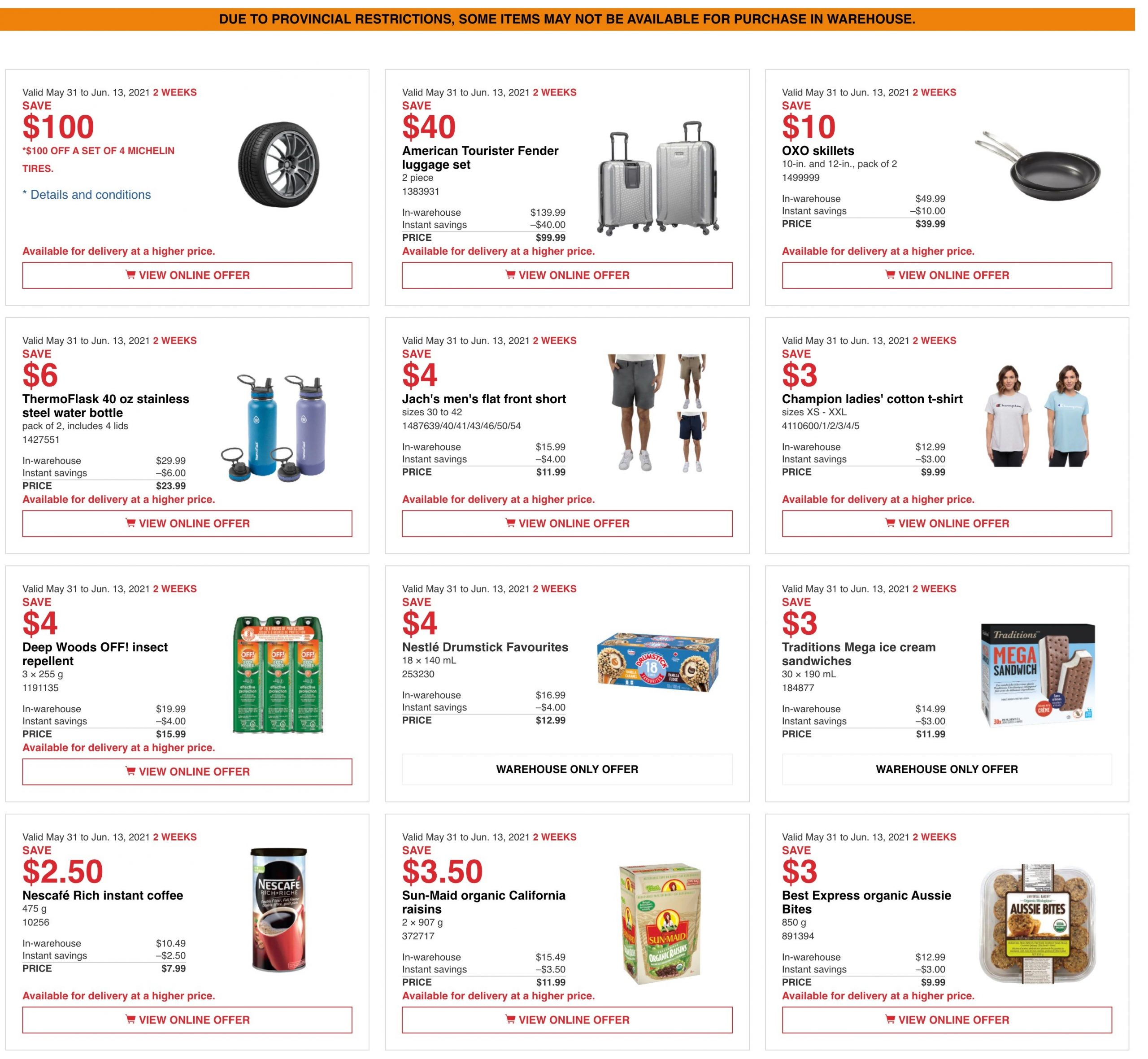 Costco ON Flyer May 31
