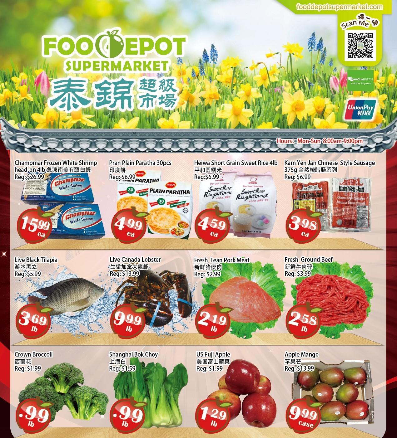 Food Depot Supermarket Flyer May 28