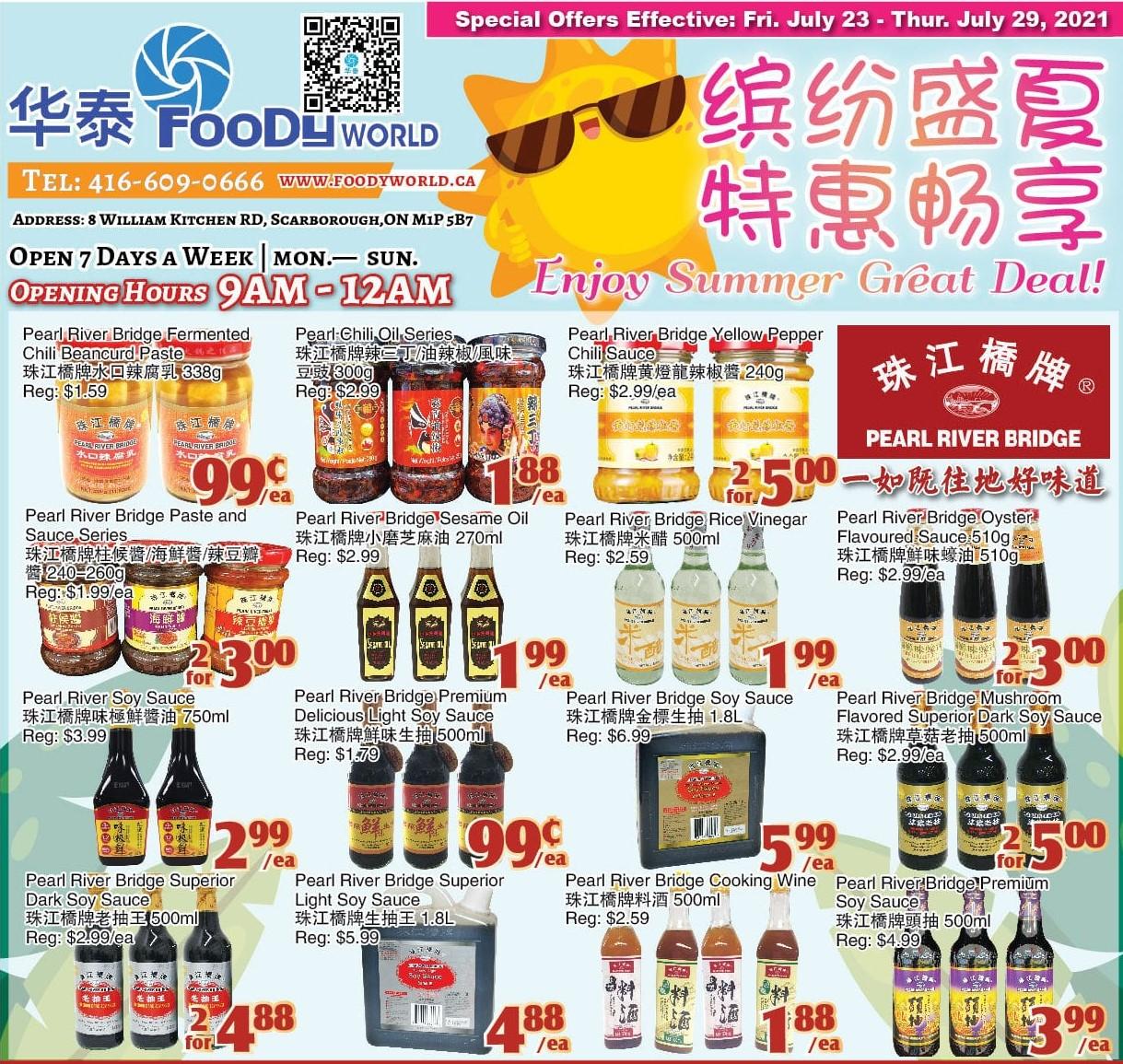 Foody World Kennedy Flyer | Jul 23