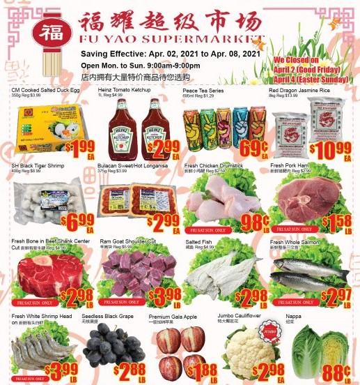 Fu Yao Supermarket Flyer Apr 2