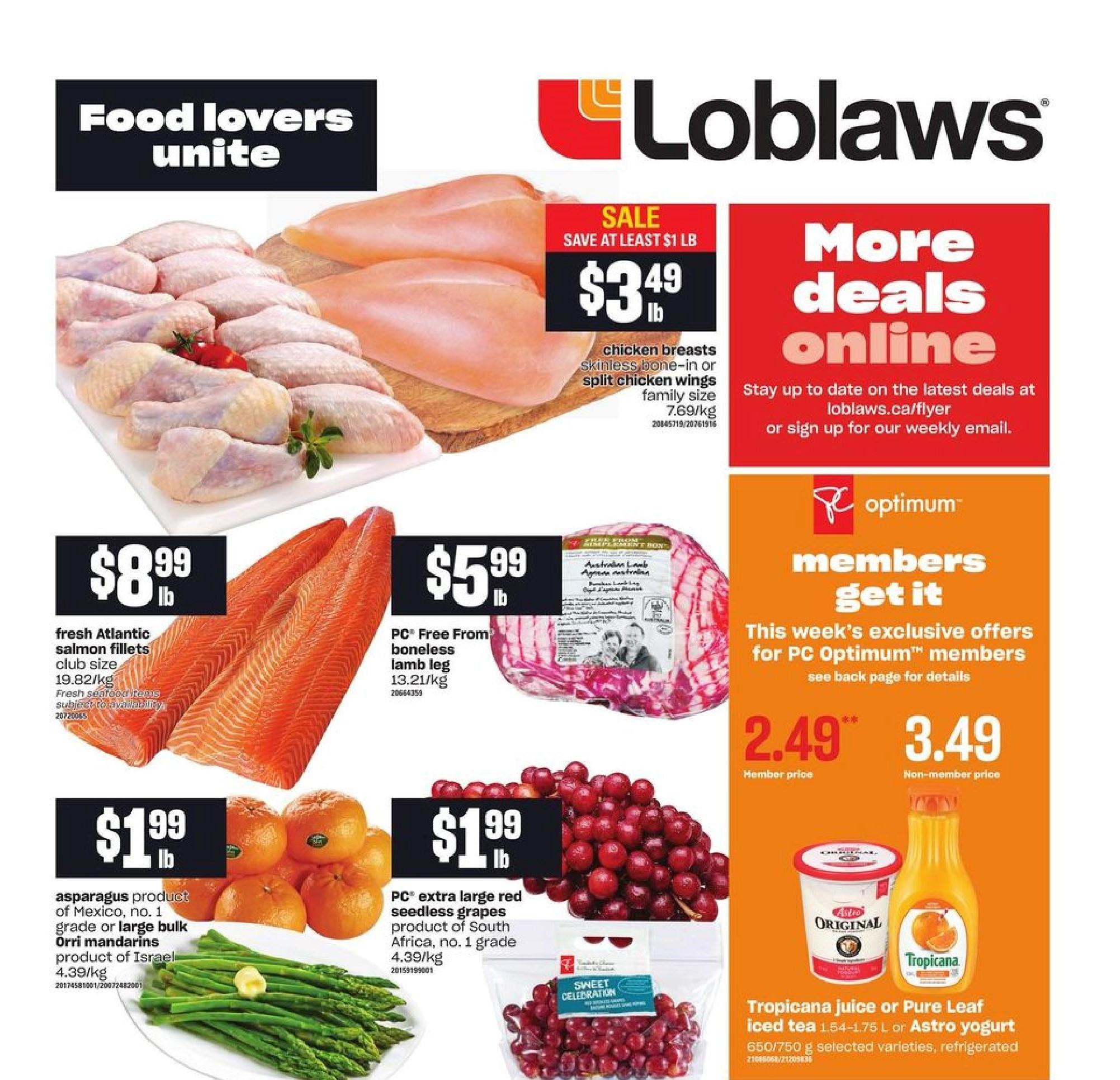 Loblaws Flyer Apr 1