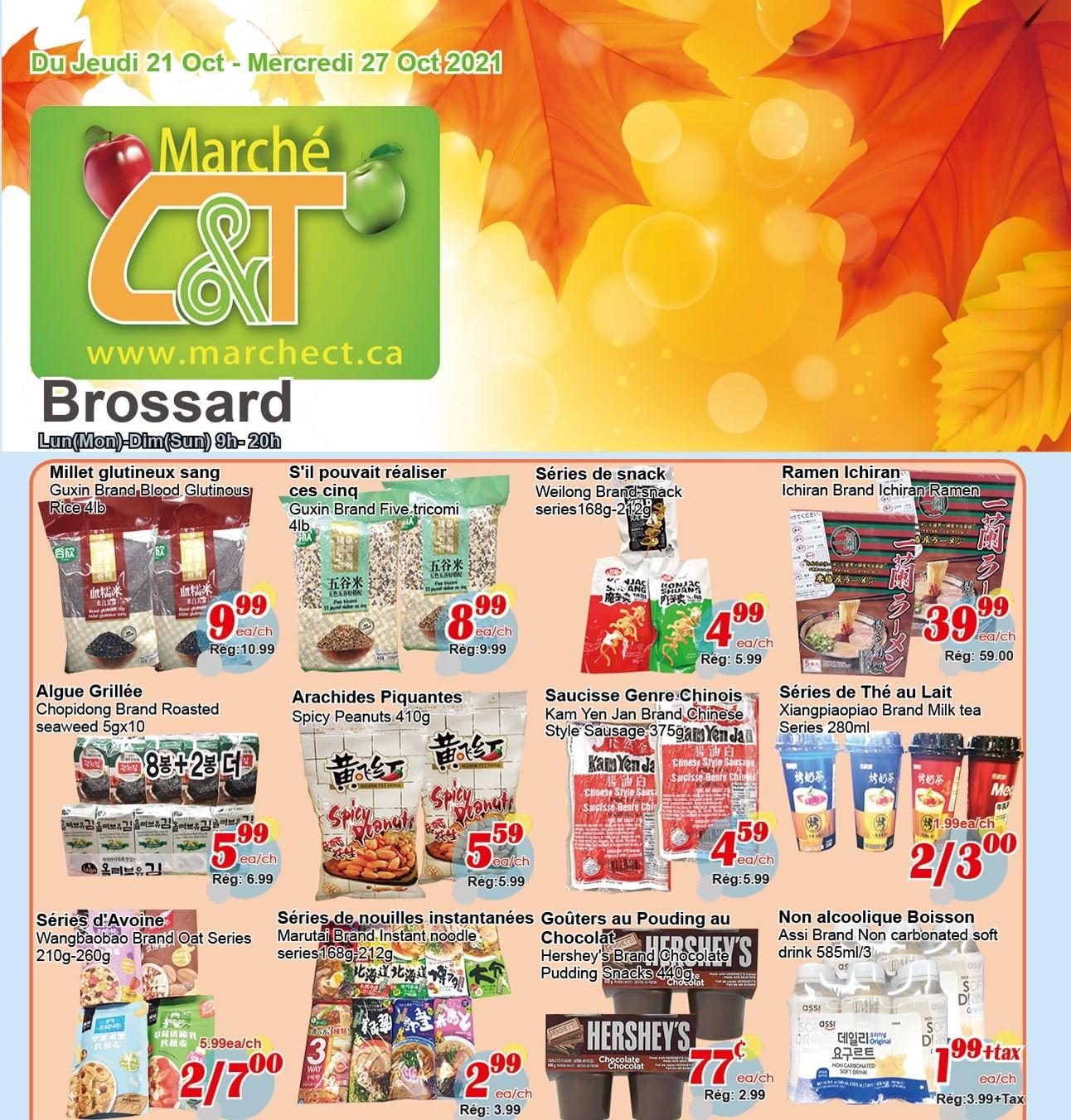Marché C&T Brossard Flyer | Oct 21