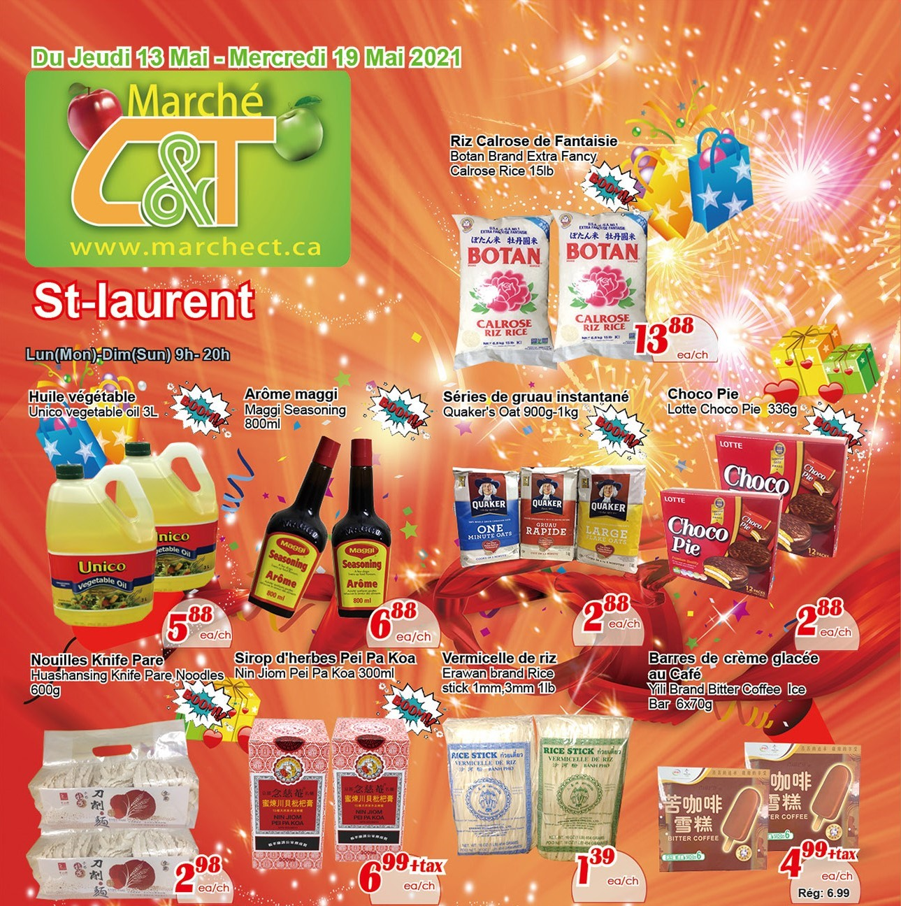 Marché C&T Brossard Flyer May 13