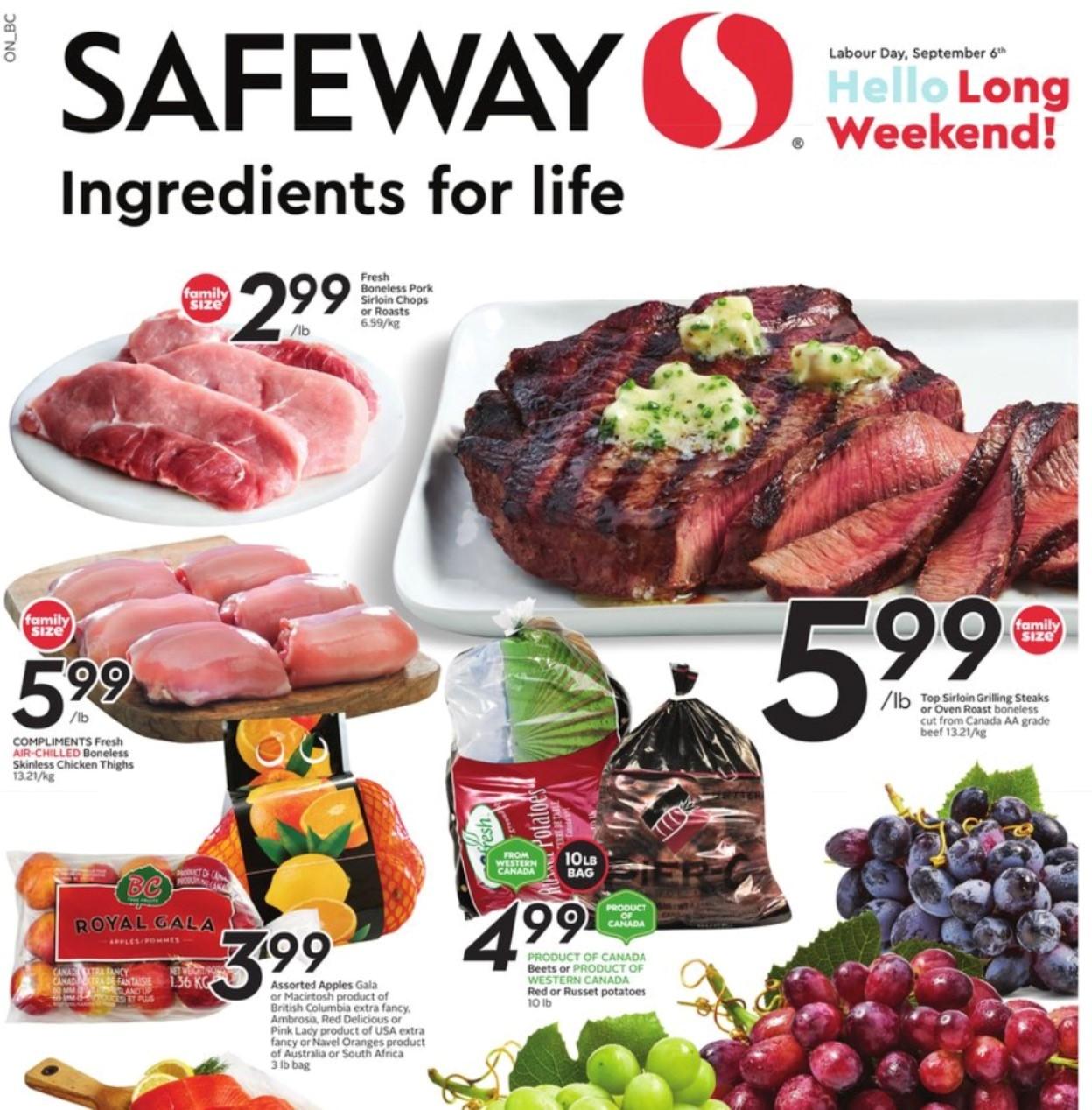 Safeway BC Flyer   Sep 2
