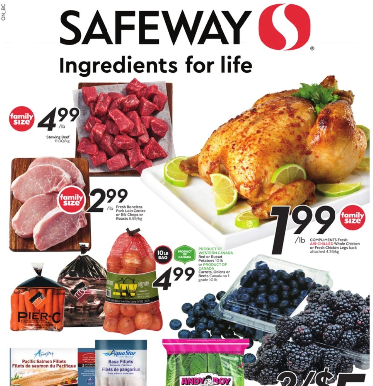 Safeway BC Flyer   Sep 16