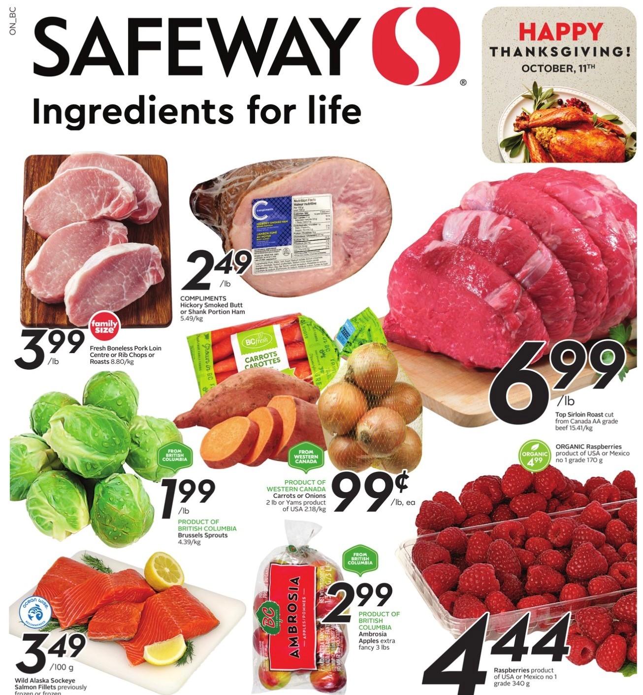 Safeway BC Flyer   Oct 7