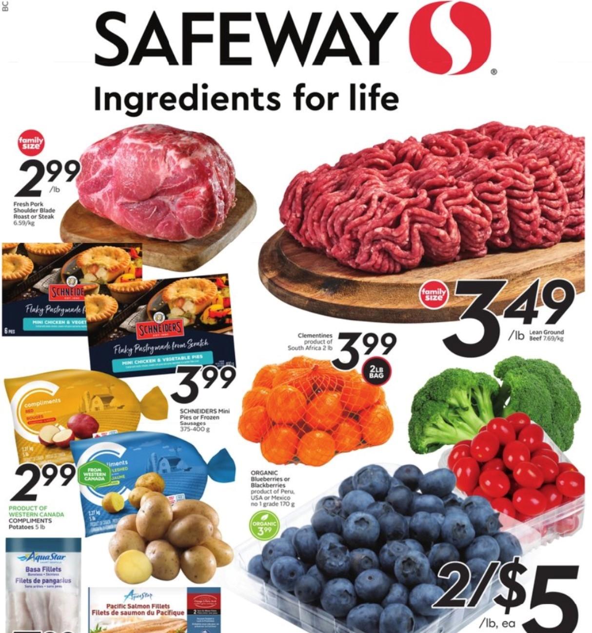 Safeway BC Flyer   Oct 14