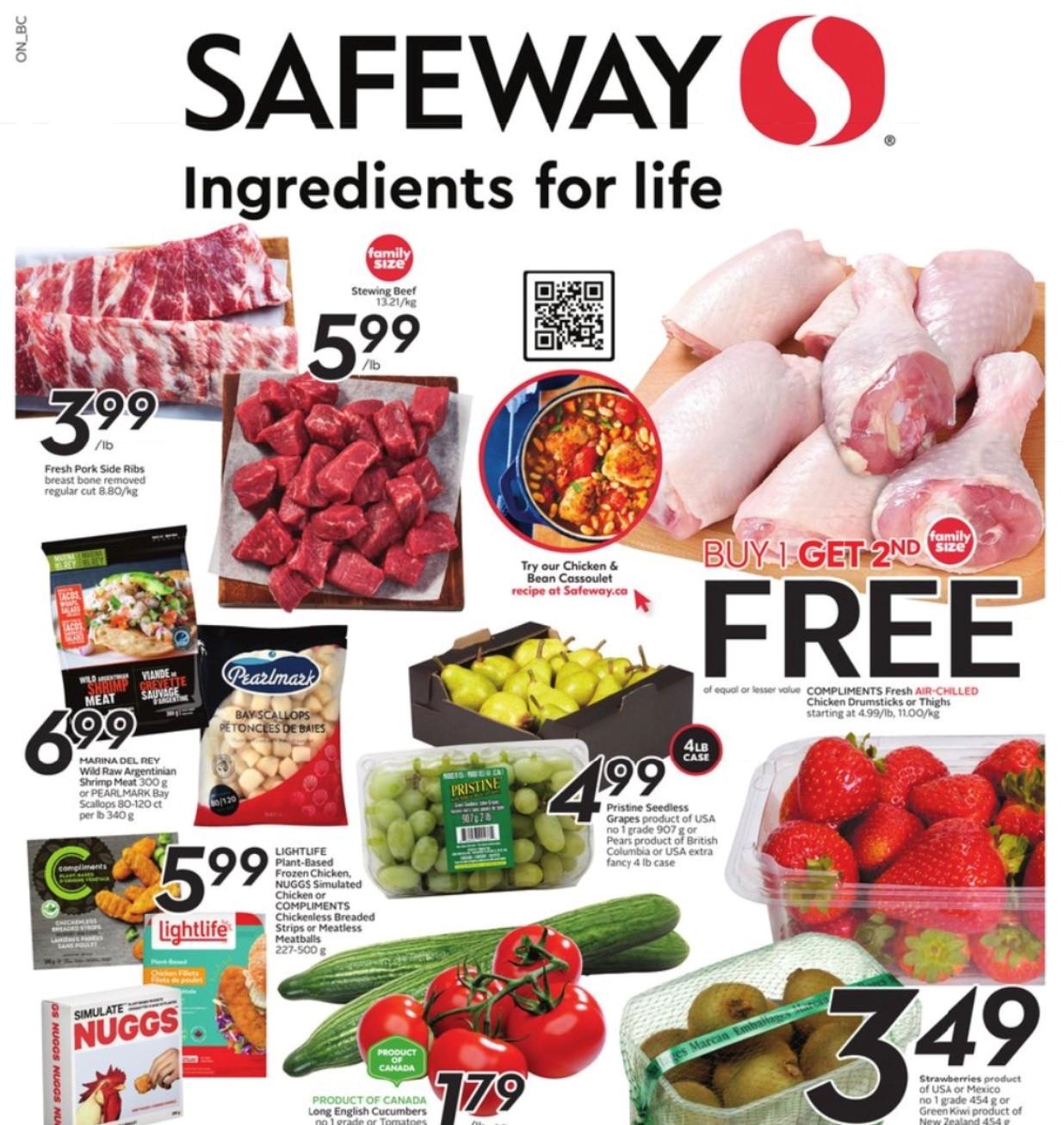 Safeway BC Flyer   Oct 21
