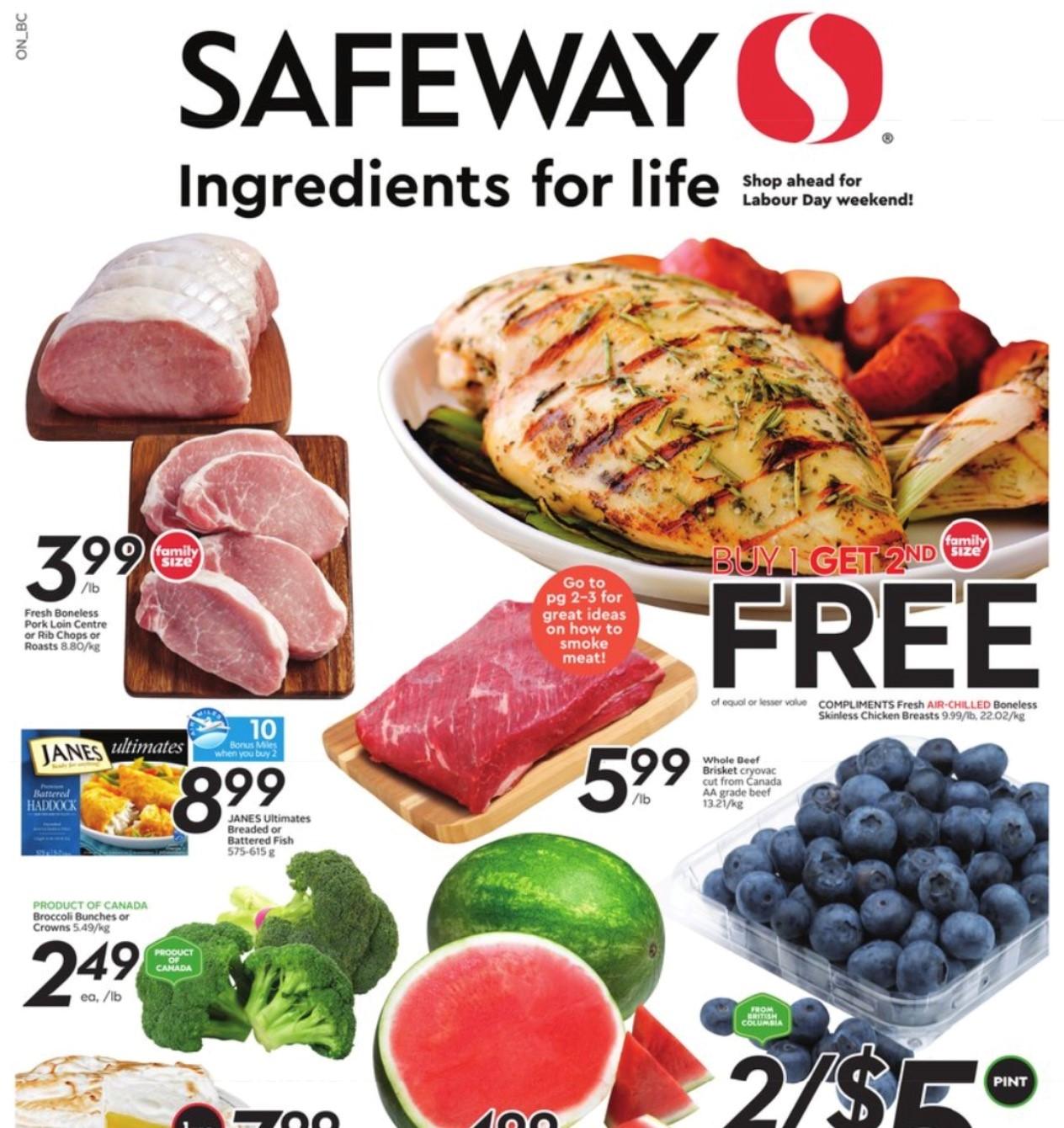 Safeway BC Flyer   Aug 26