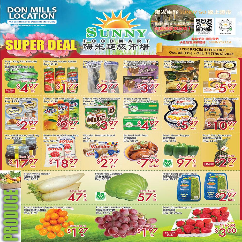 FreshWay Foodmart Flyer | Oct 8