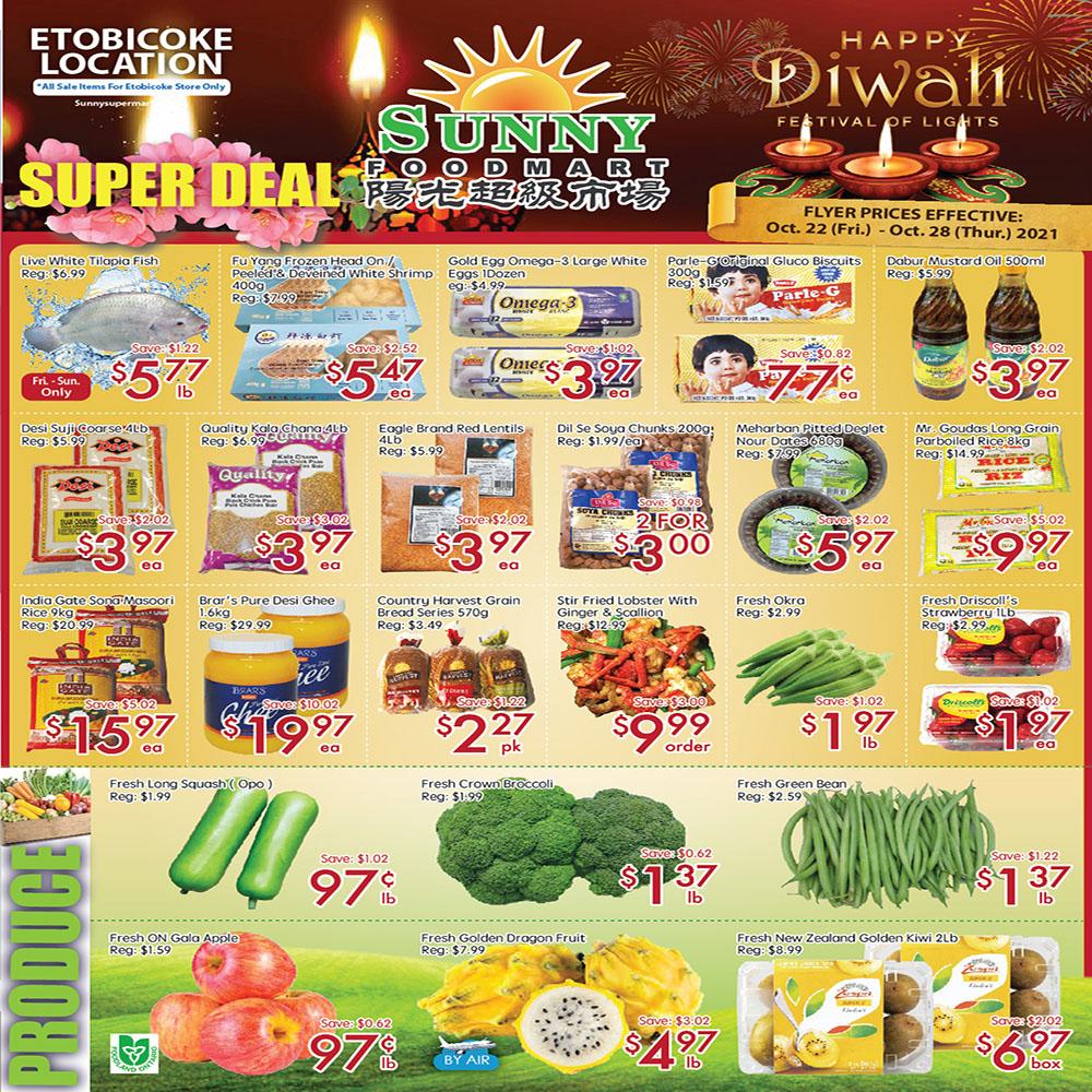 Sunny Foodmart Etobicoke Flyer | Oct 22