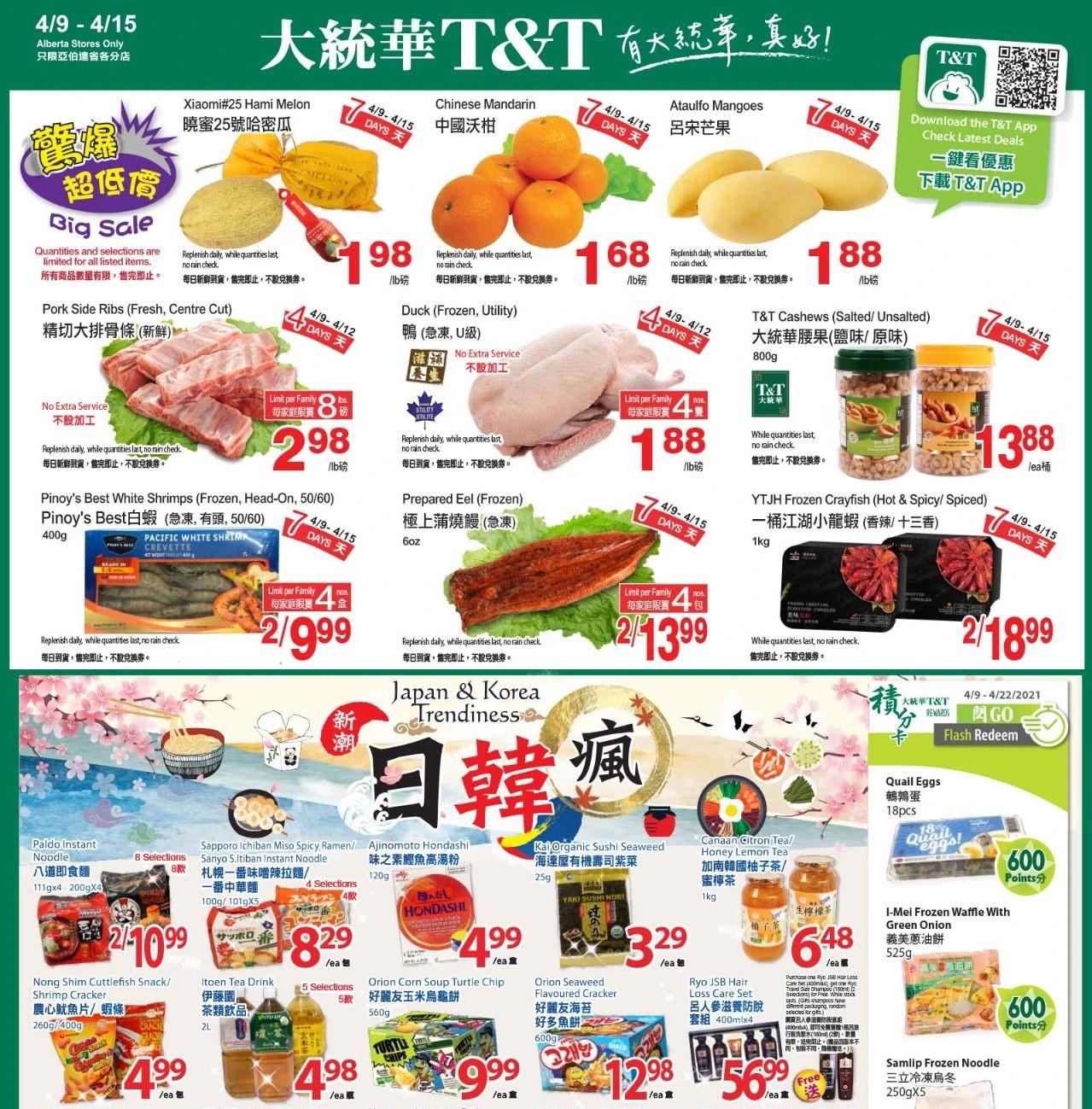 TNT Supermarket Flyer Apr 9