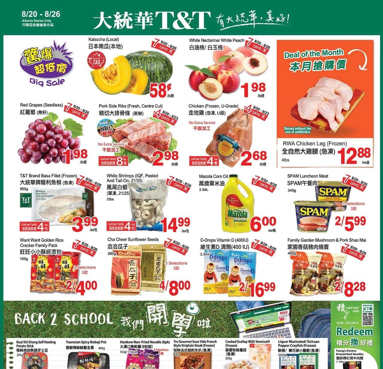 TNT Supermarket AB Flyer   Aug 20