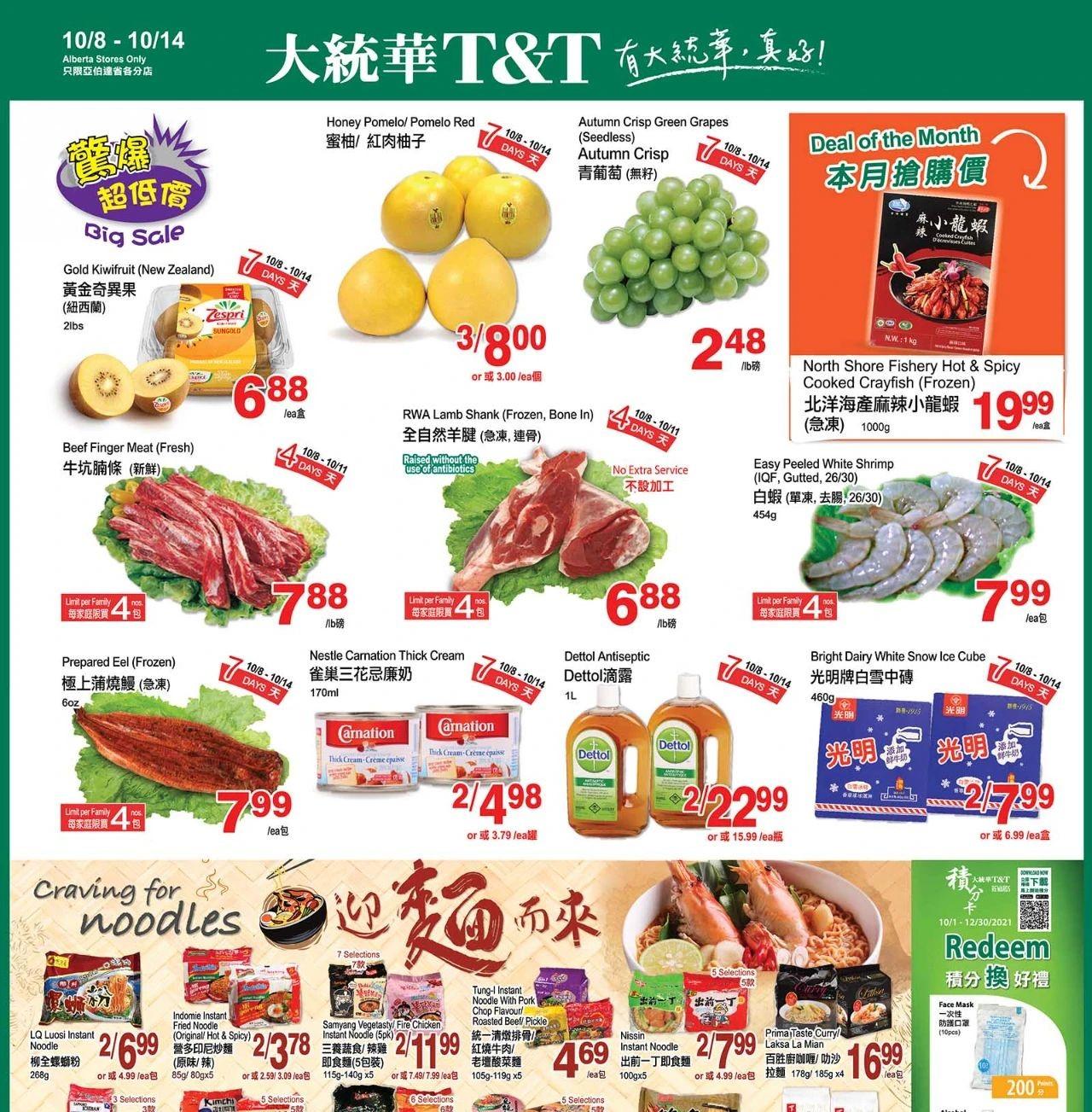 TNT Supermarket AB Flyer | Oct 8