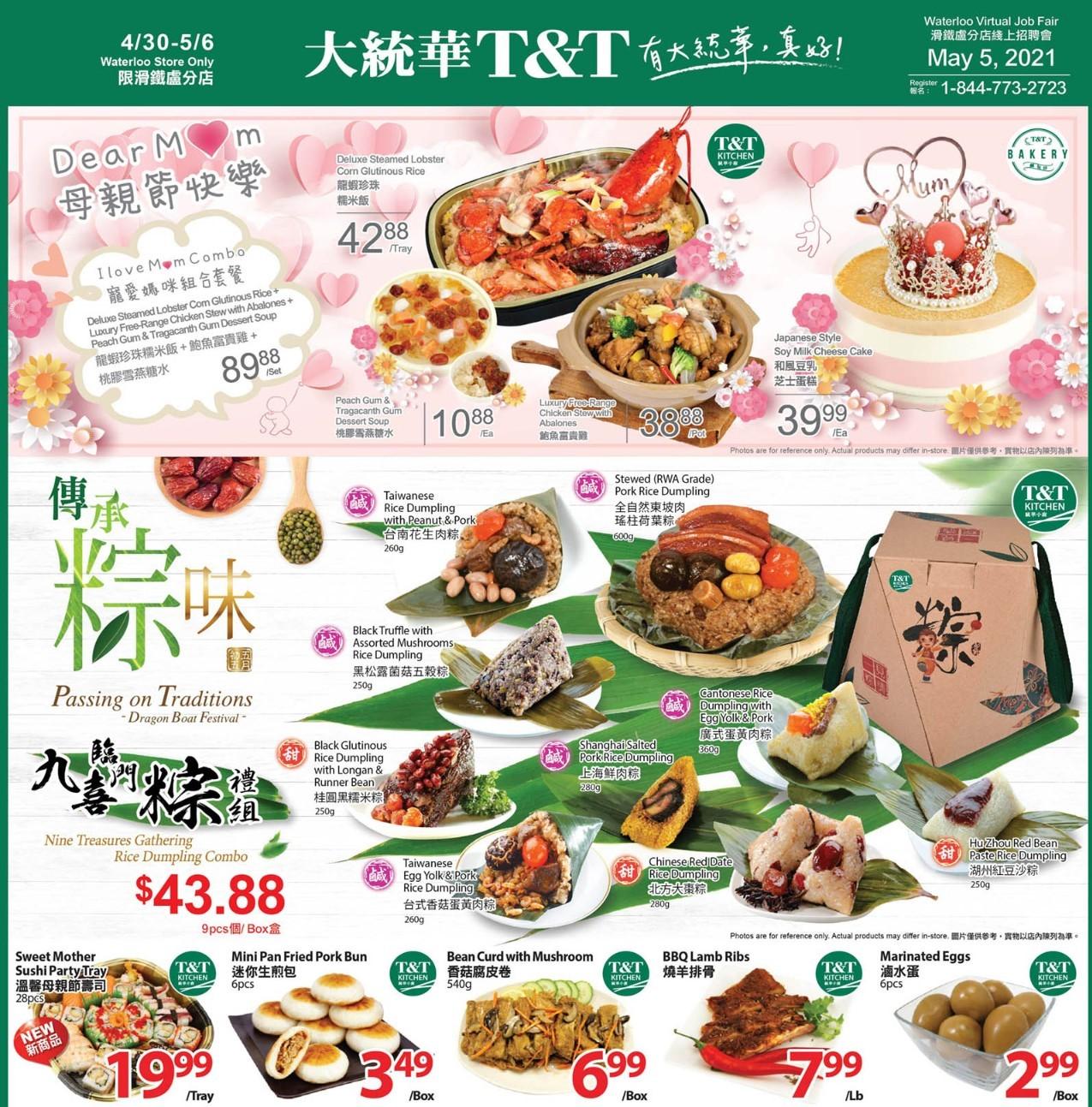 TNT Supermarket Waterloo Flyer Apr 30